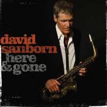David Sanborn (geb. 1945): Here & Gone, CD