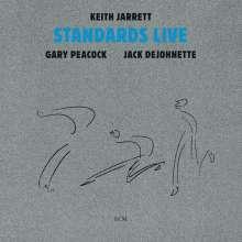 Keith Jarrett (geb. 1945): Standards Live, CD