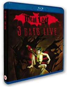 Meat Loaf: 3 Bats Live (Blu-Ray Disc), Blu-ray Disc