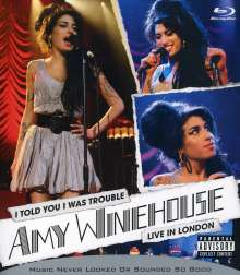 Amy Winehouse: I Told You I Was Trouble: Live In London 2007, Blu-ray Disc