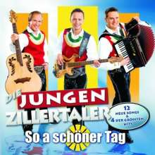 Die Jungen Zillertaler: So a schöner Tag, CD