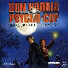 Don Harris - Psycho-Cop Folge 2: Der Club der Höllensöhne, CD