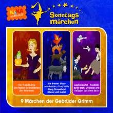 Jacob Grimm: Ki.Ka Sonntagsmärchen, 3 CDs