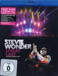 Stevie Wonder (geb. 1950): Live At Last (Blu-Ray), Blu-ray Disc