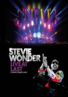Stevie Wonder (geb. 1950): Live At Last: A Wonder Summer's Night 2008, DVD