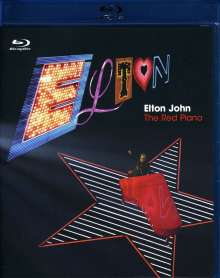 Elton John: The Red Piano: Live From Las Vegas 2004, Blu-ray Disc