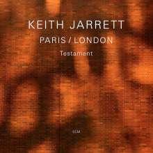 Keith Jarrett (geb. 1945): Paris/London - Testament, 3 CDs