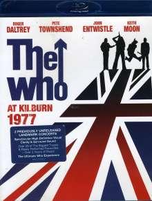 The Who: At Kilburn 1977, Blu-ray Disc