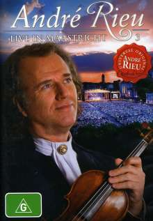 André Rieu: Live In Maastricht 3, DVD