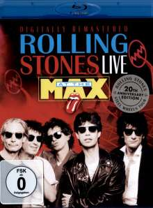 The Rolling Stones: Live At The Max (1991 London) (20th Anniversary Edition), Blu-ray Disc