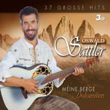 Oswald Sattler: Meine Berge: Dolomiten, 3 CDs