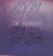 Pat Metheny (geb. 1954): 80/81 (180g), 2 LPs