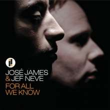 Jose James & Jef Neve: For All We Know, CD