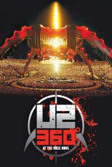 U2: 360 Degrees At The Rose Bowl 2009, Blu-ray Disc