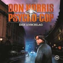 Jason Dark: Der Anschlag, 1 Audio-CD, CD