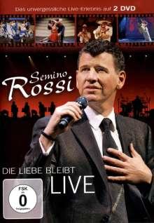 Semino Rossi: Die Liebe bleibt: Live 2010, 2 DVDs