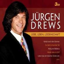 Jürgen Drews: Liebe, Leben, Leidenschaft, 3 CDs