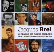 Jacques Brel (1929-1978): Integrale Des Albums Originaux, 13 CDs