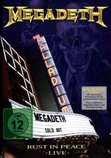 Megadeth: Rust In Peace Live 31.3.2010 (Amaray), CD