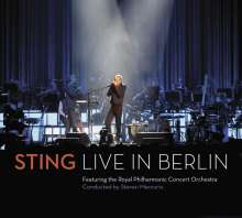 Sting (geb. 1951): Symphonicities - Live in Berlin  (CD + DVD), CD