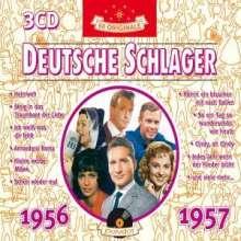 Deutsche Schlager 1956 - 1957, 3 CDs