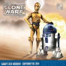 The Clone Wars 04: Kampf der Droiden / Superheftig Jedi, CD