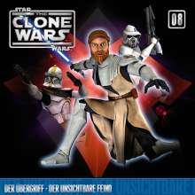 The Clone Wars 08: Der Übergriff / Der unsichtbare Feind, CD
