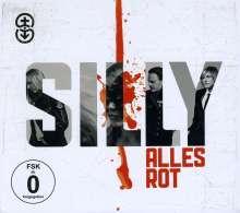 Silly: Alles rot (Limitierte Neue Deluxe Edition) (CD + DVD), 1 CD und 1 DVD