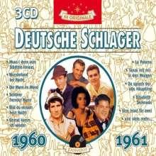 Deutsche Schlager 1960 - 1961, 3 CDs