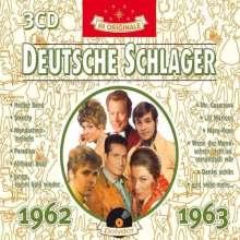 Deutsche Schlager 1962 - 1963, 3 CDs