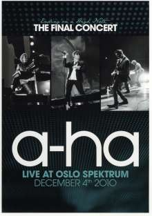 a-ha: Ending On A High Note - The Final Concert 2010, DVD