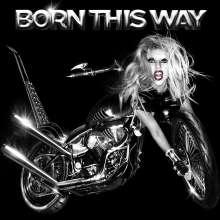 Lady Gaga: Born This Way, CD