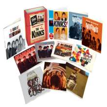The Kinks: The Kinks In Mono (Box-Set), 10 CDs