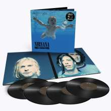 Nirvana: Nevermind (remastered) (180g) (Deluxe Version), 4 LPs
