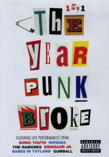 Sonic Youth: 1991: The Year Punk Broke, DVD