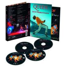 Queen: Live At Wembley (25th Anniversary Ltd. Edition) (2DVDs + 2CDs), 2 DVDs und 2 CDs