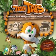 Tiger Taps 01: Dschungel-Gespenst / Aufregende Schatzsuche, CD
