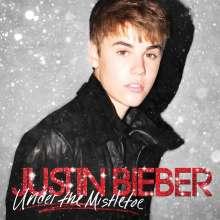 Justin Bieber: Under The Mistletoe (Deluxe Edition CD + DVD), 1 CD und 1 DVD