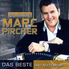 Marc Pircher: 20 Jahre: Das Beste und noch mehr..., 2 CDs