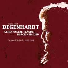 Franz Josef Degenhardt: Gehen unsere Träume durch mein Lied, 4 CDs
