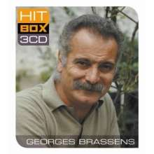 Georges Brassens: Hit Box, 3 CDs