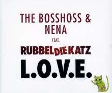 Bosshoss & Nena: L.O.V.E. (2-Track), Maxi-CD