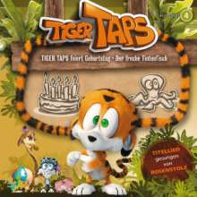 Tiger Taps 04: Taps feiert Geburtstag / Der freche Tintenfisch, CD