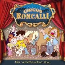 Circus Roncalli Zirkusgeschichten - Das verschwundene Pony, 1 Audio-CD, CD