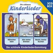 Various Artists: Die schönsten Kinderlieder - Liederbox Vol. 1, 3 CDs