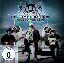 DJ Ötzi & Bellamy Brothers: Simply The Best (Deluxe Edition) (CD + DVD), 1 CD und 1 DVD