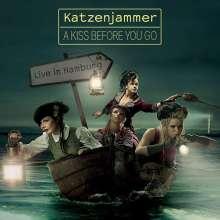 Katzenjammer: A Kiss Before You Go: Live In Hamburg 2011 (CD + DVD), 1 CD und 1 DVD