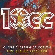 10CC: Classic Album Selection: Five Albums 1975-1978) (Limited Boxset), 6 CDs