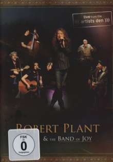 Robert Plant: Live From The Artists Den, DVD