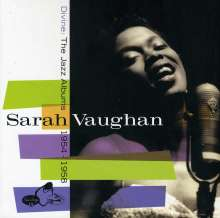 Sarah Vaughan (1924-1990): Divine: The Jazz Albums 1954 - 1958 (Limited Edition), 4 CDs